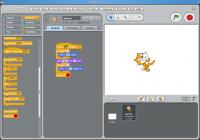 Screenshot programu Scratch 1.4