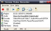 Screenshot programu Screen Video Recorder 1.5.34.0