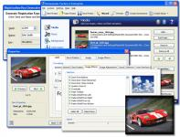 Screenshot programu Screensaver Factory Pro 6.1