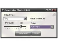Screenshot programu Screenshot Master PegasusApps