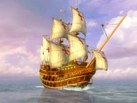 Screenshot programu Sea Voyage 3D Screensaver