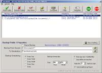 Screenshot programu Second Backup 9.9.03