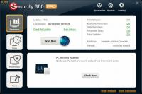 Screenshot programu Security 360 2.1 Beta