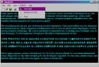 Screenshot programu ShadyTXT 1.71