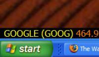 Screenshot programu Shark Ticker 1.1