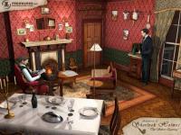 Screenshot programu Sherlock Holmes:Silver Earring