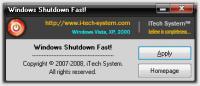 Screenshot programu Shutdown Fast! 1.0