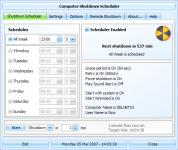 Screenshot programu Shutdown Scheduler 8.0.0.0