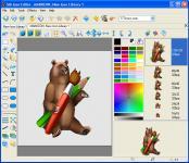 Screenshot programu Sib Icon Editor 5.0