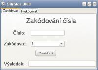 Screenshot programu Šifrátor3000 1.0