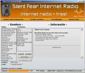 Screenshot programu Silent Fear Internet Radio 3.0