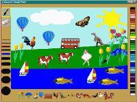Screenshot programu Simple Paint