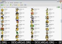Screenshot programu Simpsons Icons 1.0