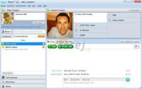 Screenshot programu Skicář (online malování)