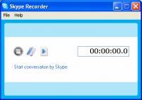 Screenshot programu Skype Recorder 2.52