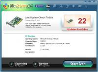 Screenshot programu SlimDrivers 2.2.45206.63218