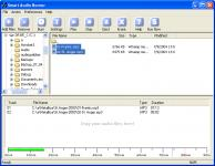 Screenshot programu Smart Audio Burner 3.12