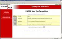 Screenshot programu SNARE Epilog for Windows 1.6.0