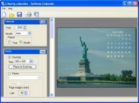 Screenshot programu Softmos Calendar 1.2