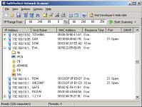 Screenshot programu Softperfect Network Scanner 5.5.10