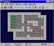 Screenshot programu Sokoban 3.0