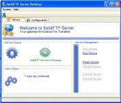 Screenshot programu SolidFTP Server 0.1 Beta