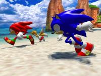 Screenshot programu Sonic Heroes