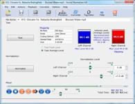 Screenshot programu Sound Normalizer 6.9