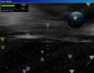 Screenshot programu Space Attack 1.00
