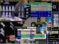 Screenshot programu Space General: World War IV