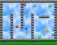 Screenshot programu Space Pacman Frozen Chair 2.0