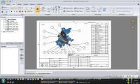 Screenshot programu SpaceClaim Engineer 2009