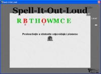 Screenshot programu Spell it out Loud