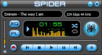 Screenshot programu Spider Player 2.5.3