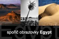 Screenshot programu Spořič obrazovky - Egypt