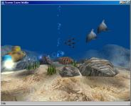 Screenshot programu Spořič obrazovky Wolfie