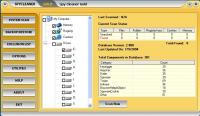 Screenshot programu Spy Cleaner Gold 9.8