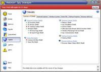 Screenshot programu Spy Sweeper  6.1.0.145