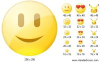 Screenshot programu Standard Smile Icons 2009.3
