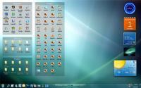 Screenshot programu Stardock Fences 1.00.278