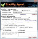 Screenshot programu StartUp Agent 2.0.10