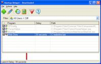 Screenshot programu Startup Delayer 3.0 Build 366