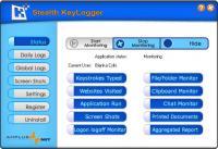 Screenshot programu Stealth KeyLogger