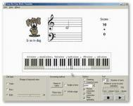Screenshot programu Step-By-Step Note Teacher 2.7