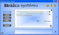 Screenshot programu Strážca systému 3.34