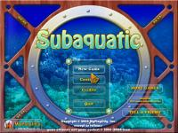 Screenshot programu Subaquatic 1.0