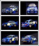Screenshot programu Subaru Impreza Screensaver 2