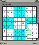 Screenshot programu Sudoku 1.5