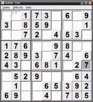 Screenshot programu Sudoku Portable 1.1.7.1