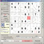 Screenshot programu SuDoKu 1.8